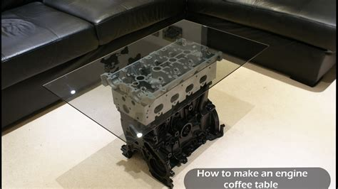 How To Make An Engine Coffee Table Top Gear Style Youtube