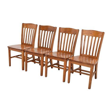 brown slat  wood chairs chairs