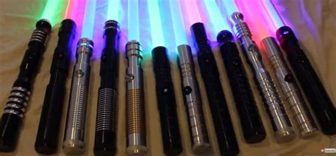 how many lightsaber colors are there sabersourcing