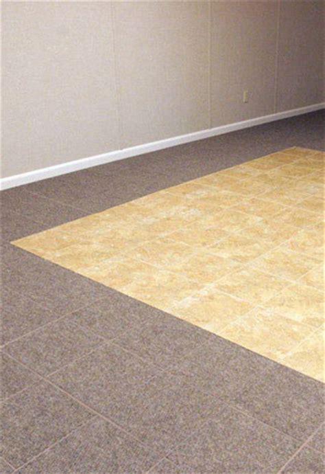 basement flooring tile  joliet naperville aurora