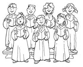 Church Choir Coloring Pages