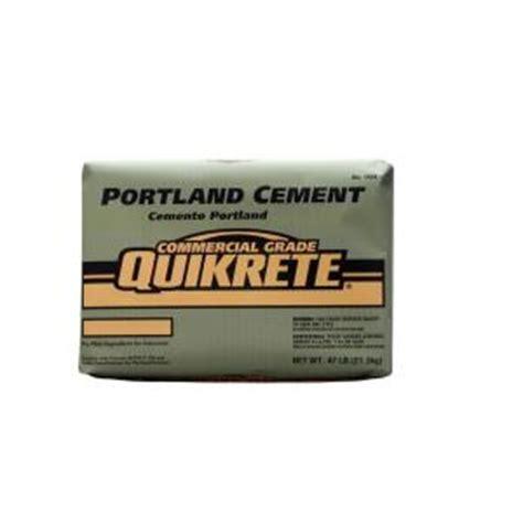 depot quikrete quikrete 47 lb portland cement 112447 the home depot Home