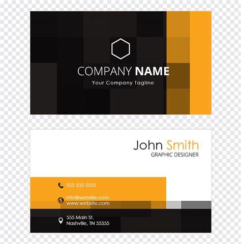 logo paper business card design visiting card business