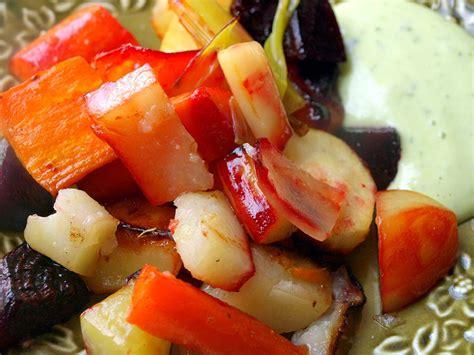 Honey-glazed Roasted Root Vegetables