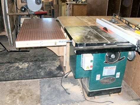 grizzly cabinet saw review review review of the grizzly g1023sl cabinet style table