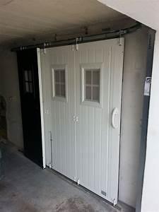 portails et portes de garage d39eco ouest solabaie With isolation porte de garage coulissante