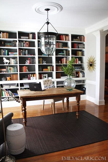 Office Desk With Bookshelf by Home Office With Built In Bookshelves Office Office