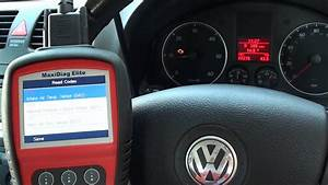 How To Check A Check Engine Light Code Vw Jetta Fault Codes 00275 00568 00258 Check Engine