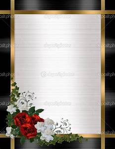 7 best images of wedding border designs wedding border With wedding invitations borders red