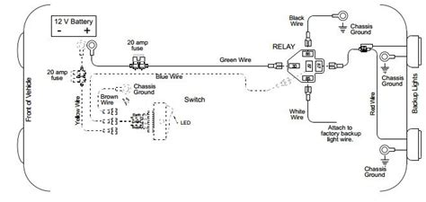 Back Light Wiring Diagram Auto Info Pinterest