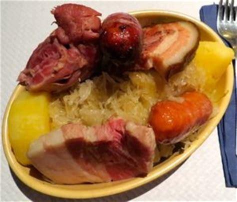 alsace cuisine colmar choucroute garnie alsace