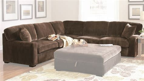 Elegant Brown L Shaped Couch Design   ALL ABOUT HOUSE DESIGN