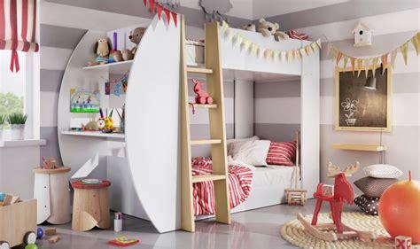 lit superposé avec bureau lit superpose 2 couchages design max mobilier chambre