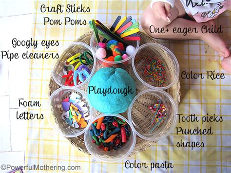 Going To Nursery Book by Loose Parts Amp Playdough