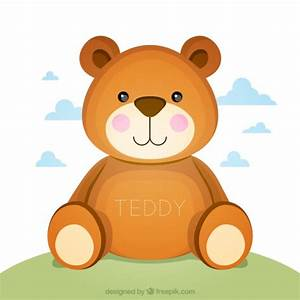 Cute teddy bear Vector | Free Download
