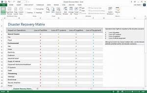 disaster recovery plan checklist template - business continuity plan download 48 pg ms word 12