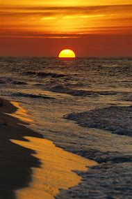 Baltic Sea Sunset Poland