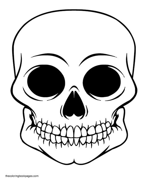 skull coloring pages coloring pages skulls coloring home