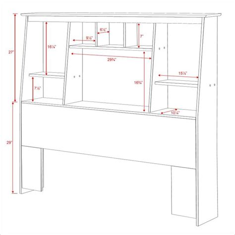 tall bookcase headboard queen woodworking projects plans