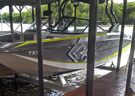 Boat Lift Out Of Water by Home Proteus Boat Lifts