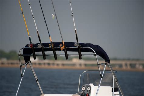 Boat Canopy Rod Holders by Bimini Top Rocket Launcher Rod Holder Coverquest