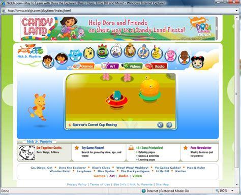 nickjr com preschool games nickjr memade kidsworld 973