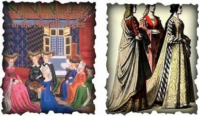 Noblewomen Role Middle Ages Noblewoman Children Bear