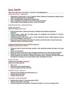 What Should Be Included In A Resume Profile by Brief Resume Exles Belhasamotors Co