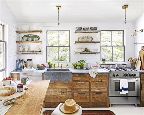 perfect red country kitchen cabinet design ideas for small maine cottage small house in maine