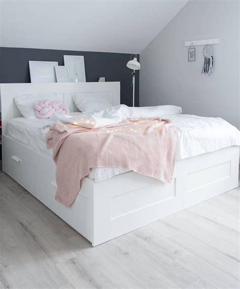 Mädchen Bett Ikea by Scandi Bedroom Scandinavian Style Brimnes Ikea Bed