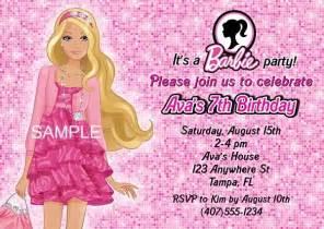 bridal shower gift from registry birthday party invitations doll kids birthday