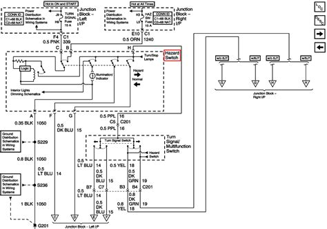 2005 Chevy Impala Ignition Switch Wiring Diagram by My Turn Signals And Will Not Flash On My 2005