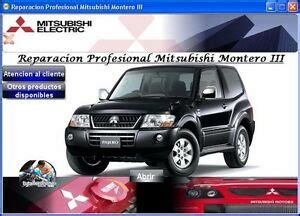 car repair manuals online free 2005 mitsubishi pajero electronic throttle control factory service repair manual fsm mitsubishi montero pajero 2001 2005 ebay