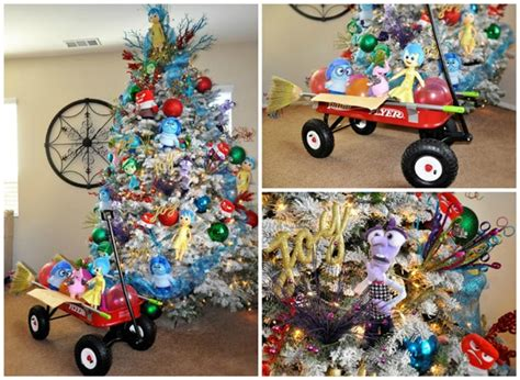 disney themed christmas party inside out disney themed tree pretty my