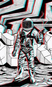 3d Illustration on Behance   Space illustration, Astronaut ...