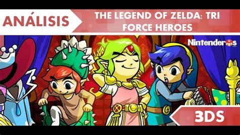 [análisis] 'the Legend Of Zelda Tri Force Heroes'  Nintenderoscom  Nintendo Switch, 3ds, Wii U