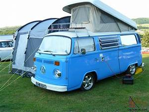 Vw T2 Campervan 1973 Bay Window Pop Top  Pappa Smurf