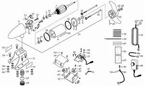 Minn Kota Engine Mount Em54 Parts