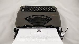 Working 1950 U2019s Hermes Baby Vintage Manual Typewriter  New