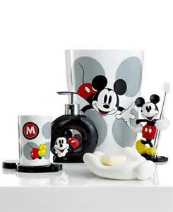 disney bath accessories disney mickey mouse collection bathroom accessories bed bath macy 39 s