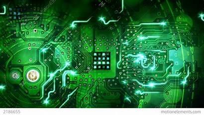 Circuit Board Computer Loop Backgrounds Elektronik Technology