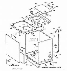 Cabinet  Cover  U0026 Front Panel Diagram  U0026 Parts List For