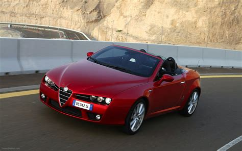 Alfa Romeo Spider 2009 Widescreen Exotic Car Wallpapers