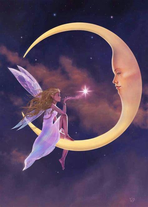 moon and stars fairy l fairy moon dark side of the moon pinterest