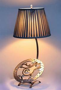 6 Motorcycle Industrial Table Lamps  Only For Bikers