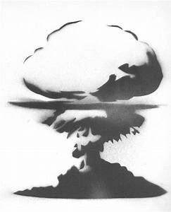 Mushroom cloud   I love this one, it is so simple but so ...