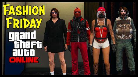 GTA 5 Online FASHION FRIDAY! (GK Sierra Operative Storm Deadpool The Survivor u0026 More) - YouTube