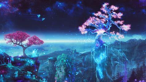 wallpaper anime magic  mellowei
