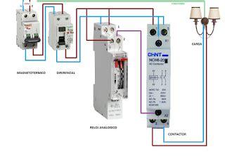esquemas el 233 ctricos maniobra reloj analogico y contactor esquemas el 233 ctricos