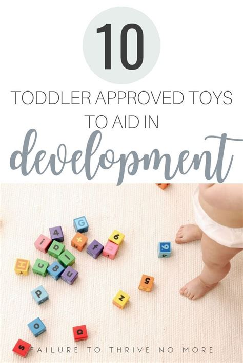 10 Toddler Approved Toys to Help Development   Toddler ...